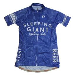 Sleeping Giant Cycling Club Topographical Bicycle Jersey