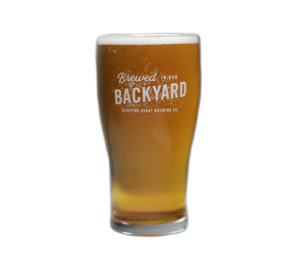 Brewed In Our Backyard Glass